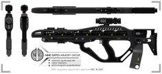 NG-MAB Pulse Rifle Orthographic Sheet by doug7070.deviantart.com on @DeviantArt