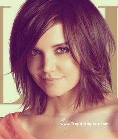 Frisuren schulterlanges haar 2015