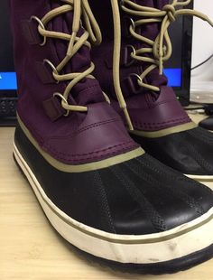 Sorel Carnival Women s 12 Winter Duck Snow Boots Purple Waterproof  SOREL   HandcraftedDuckSnowWinterBoots  EverydayWinter 930b357eb