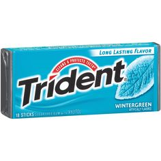 Trident Sugar Free Gum (Wintergreen, 18-Piece, 12-Pack) -- Click now. Unbelievable product right here! : Fresh Groceries