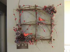 A wreath for Christmas.
