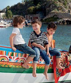 Dolce & Gabbana Spring/Summer 2013 Children Collection