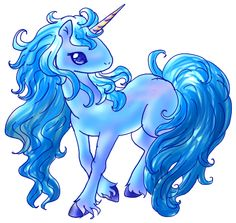 Blue Unicorn by ~j2y8n2x on deviantART