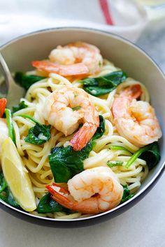 Shrimp and Spinach SpaghettiReally nice recipes. Every hour.Show  Mein Blog: Alles rund um die Themen Genuss & Geschmack  Kochen Backen Braten Vorspeisen Hauptgerichte und Desserts