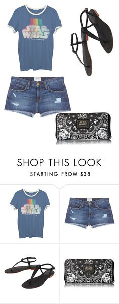 """idk #29"" by lkmcbee ❤ liked on Polyvore featuring Junk Food Clothing, Current/Elliott, Cocobelle and Loungefly"