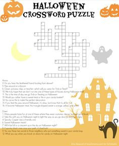 Boo! Can your elementary schooler solve every clue in this spooky crossword puzzle?