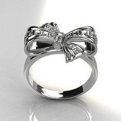 Tiffany bow ring <3
