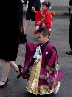 Shichi-Go-San ( 七五三 - seven-five-three)- A day celebrating seven, five, and three-year-olds