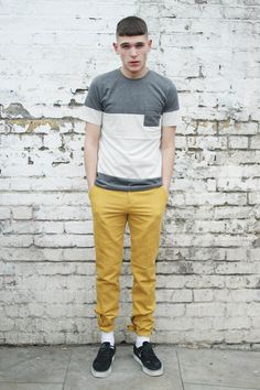 thewhitepepper:  THE WHITEPEPPER Men's Combi Pocket T-shirt Styling and Photography by THE WHITEPEPPER