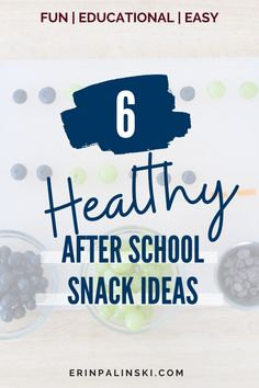These healthy snacks for kids are perfect when finishing up the school day! We like to call them snacktivities! They are easy to make and incorporate learning but in a fun way! Not to mention the exposure of healthy foods to younger children increase acceptance later one!