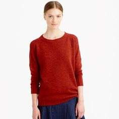 Cashmere & Wool Crew Neck Sweater XS No defects other than some pilling on the sweater. This sweater is so warm and cozy! 70% Wool 30% Cashmere. The most accurate color is pictured in the third photo J. Crew Sweaters Crew & Scoop Necks