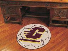 Central Michigan University Soccer Ball