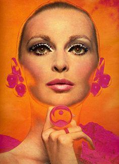 Makeup Advertisement in Seventeen Magazine ♥ 1968...Wilhelmina