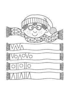 Album Archive - 456 numero mania del 1 al 30 Preschool Learning Activities, Preschool Worksheets, Winter Activities, Kindergarten Math, Teaching Math, Kids Learning, Pre Writing, Writing Skills, Math Patterns