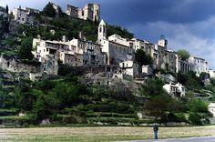 Montbrun-les-Bains Drôme Rhône-Alpes