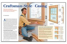 arts and crafts baseboard trim ideas | Preview - Craftsman-Style Casing - Fine Homebuilding Article