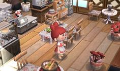 The Cafe is open!! :3