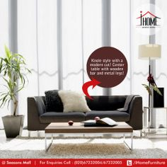 It's a very Asian look, ground bungalows with window(ed) wall, will keep your plant happy. And You!   #iHome #Furniture #ArtisticLiving #Pune Seasons Mall