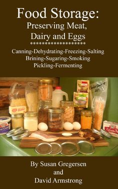 Food Storage: Preserving Meat, Dairy, and Eggs  ($2.97)