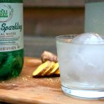 Sparkling Coconut Ginger Soda