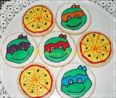 Cookies Tortugas Ninjas Blueberry Eventos