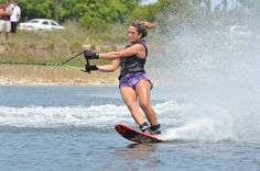 Waterski   My fave way to go!  Me too!!  Soon very soon - boat gets in the water and I'm on a slalom ski - can't wait!!