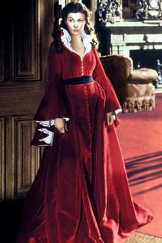The Gone With the Wind Dressing Gown.  Don't you wish you looked this good at bedtime?
