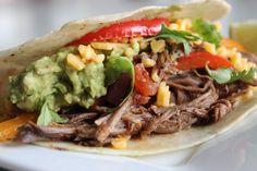 Slow Cooker Tex-Mex Beef Fajitas