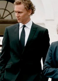 Has anyone thought of having this guy model suits? ;-) Tom Hiddleston as Magnus Martinsson in Wallander (2008)