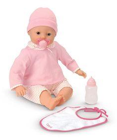Look at this #zulilyfind! Mon Classique Lila Cherie Interactive 17'' Baby Doll #zulilyfinds