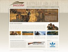 Partridge website design