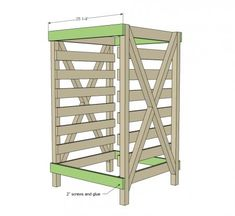 Build a produce food storage drying rack! Now I get it. When harvest time comes, you need somewhere to dry all of your produce and store it for the winter. If taken care of properly, you could be …