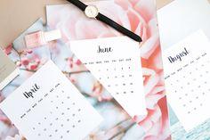 Calendar 2016 Free Printable | Coralinart