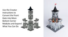 5 Modular Castle Creator http://www.flickr.com/photos/michaelkalkwarf/29015748965/