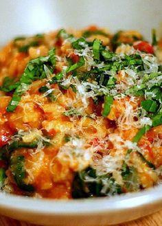 Low FODMAP Recipe and Gluten Free Recipe - Tomato risotto  http://www.ibs-health.com/low_fodmap_tomato_risotto.html
