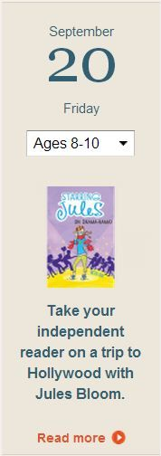"""""""Starring Jules (In Drama-Rama),"""" by Beth Ain, will delight your independent reader! Click for details."""