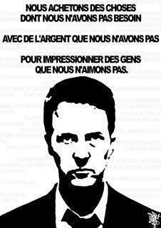 Citation de Fight Club | Inform'Action