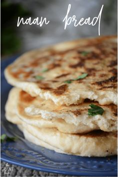 How to make classic naan bread! Easy Homemade Recipes, Easy Bread Recipes, Cooking Recipes, Pistachio Dessert, Indian Dishes, Naan, Dessert Recipes, Desserts, Yummy Food
