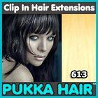 """15 Inch (Golden Blonde #24) Clip In Remy Human Hair Extensions - 8 Piece Set - Full Head - Clips Attached - 90g Weight - Get the Celebrity Lush Look!! by Pukka Hair Extensions. $70.99. Set contains: 1 x 8"""" wide weft (4 clips attached) 2 x 6"""" wide weft (3 clips attached) 2 x 4"""" wide weft (2 clips attached) 1 x 3"""" wide weft (2 clips attached) 2 x 2"""" wide weft (1 clip attached). Perfect for adding volume and length to your natural hair. The set contains a total of 8 wefts complet..."""