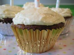 Carrot & Pineapple Cupcakes with Cream Cheese Icing on Weelicious