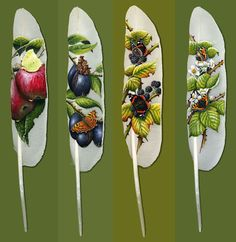 amazing art!!! Feather Art   Ian Davie inspiration