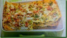 Cena Vegetariana: Lasagne con noci, primosale e zucchine