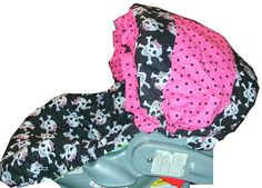 Infant Car Seat Slip Cover UNIVERSAL FIT. $39.99, via Etsy.