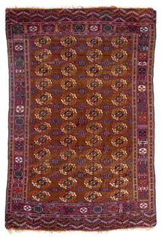 VAN-HAM Kunstauktionen Tekke. 19th C. 333 x 218cm.