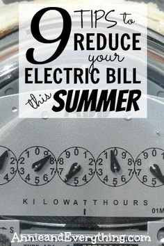 Is the summer heat causing your electric bill to creep up as you use the air conditioning? Here are some ways to save money and still stay cool!