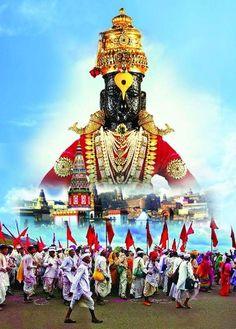 Lord Ganesha Paintings, Ganesha Art, Krishna Art, Ganesha Pictures, Ganesh Images, Birthday Banner Background, Hindu Deities, Hinduism, Shivaji Maharaj Hd Wallpaper