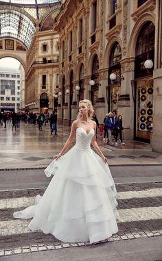 Tolga Yurdaer Photography, Tanıtım Fotoğrafçılığı Eddy K. Bridal - Wedding dress designer, Milano Collection 2017 Lookbook Shooting with Roxy Horner