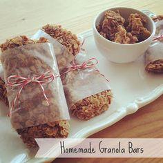 Lisa loves John: Homemade Granola Bars