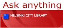 Ask Anything in Helsinki, Finland lijkt op  #dtv en Aladin #sociale media & leren