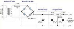 #BridgeRectifier Circuit Diagram.